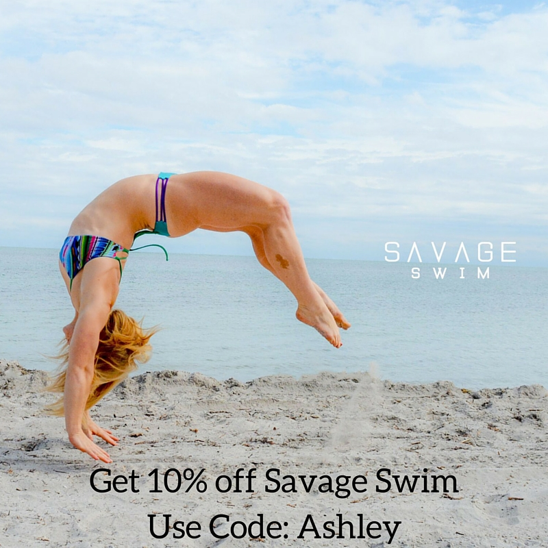 Get 10% off Savage Swim Use Code: Ashley