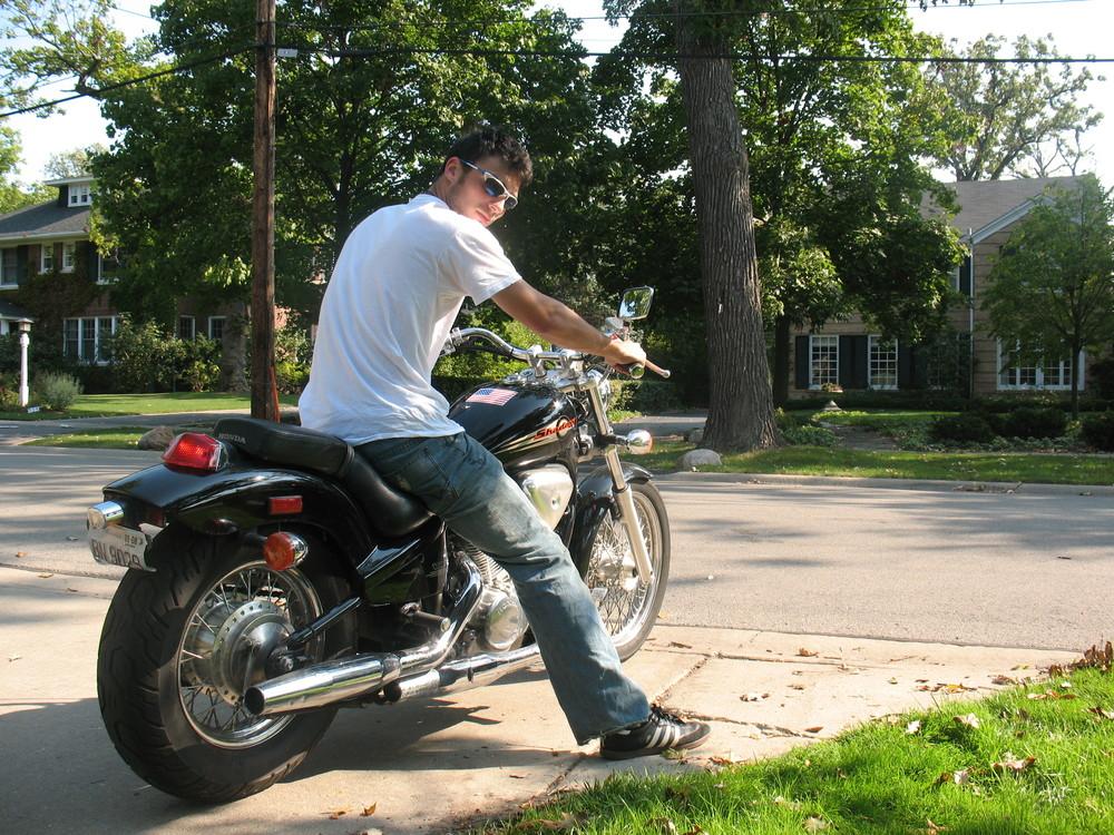 My first motorcycle - 1997 Honda Shadow
