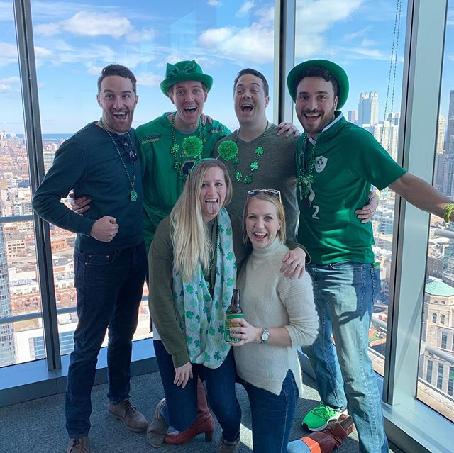 The best part of St. Patty's are the people you spend it with.