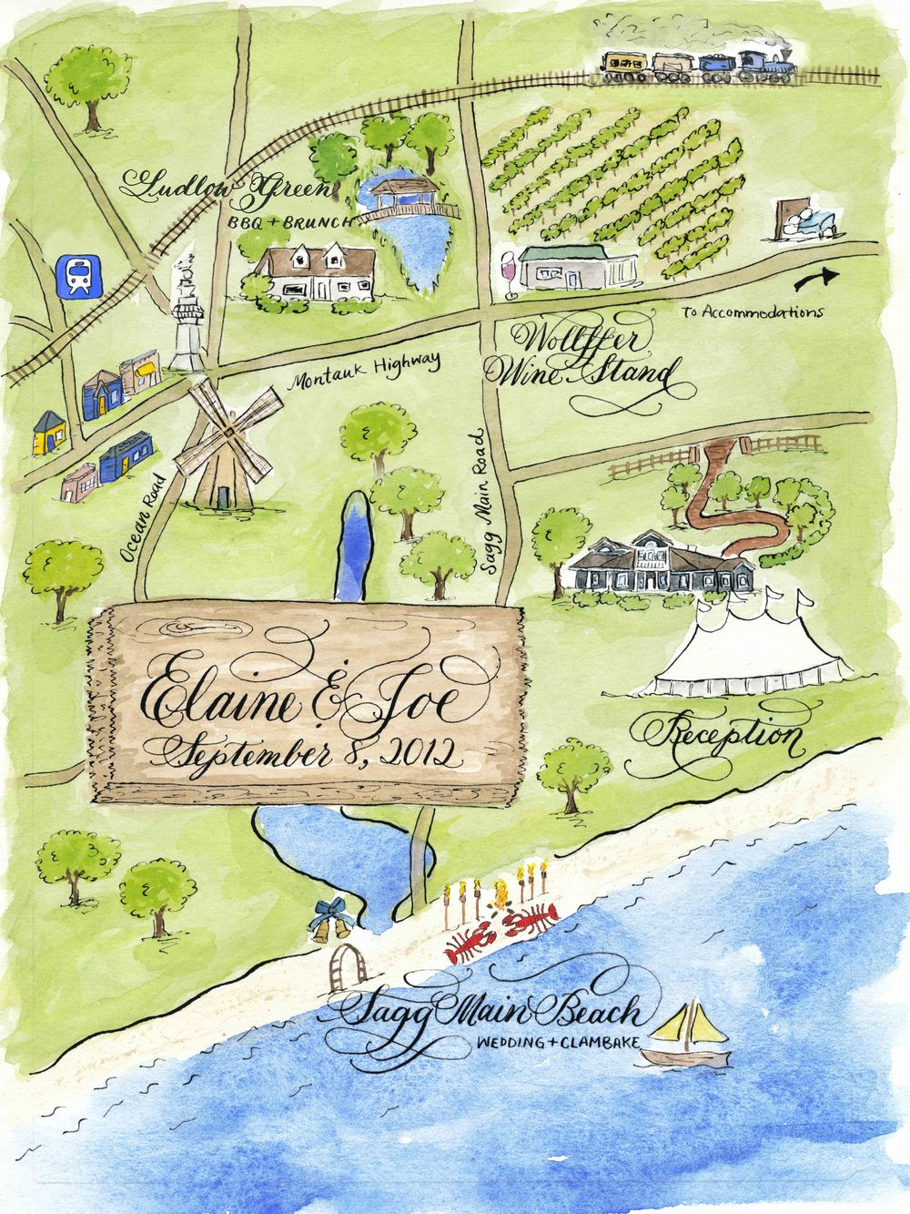 Elaine new york watercolor calligraphy wedding map 2.jpg