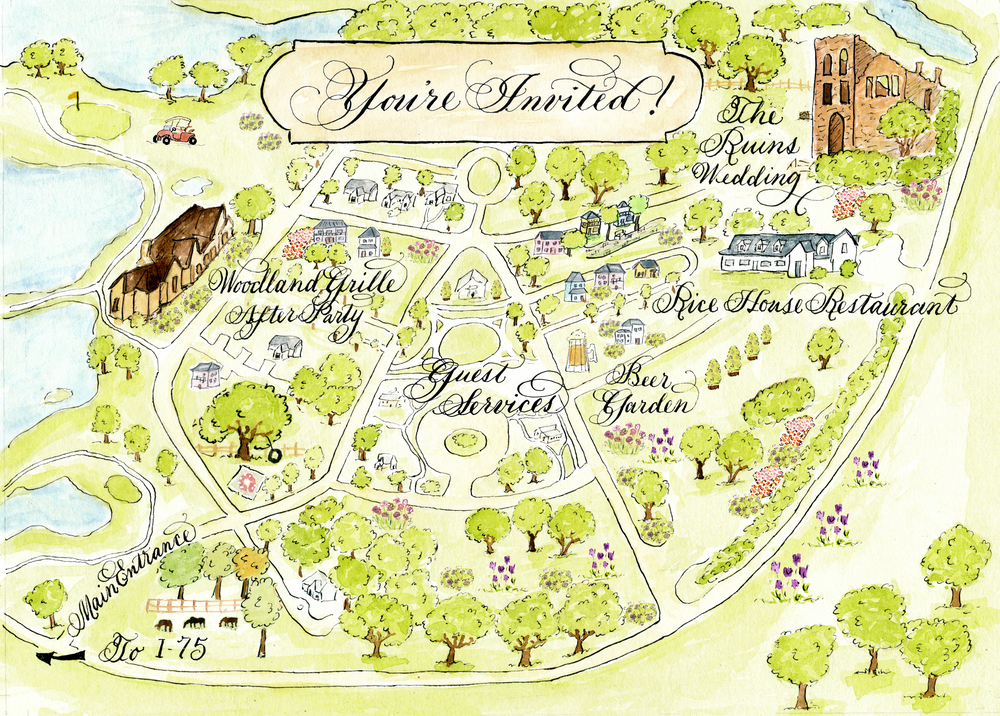 Erica watercolor wedding map.jpg