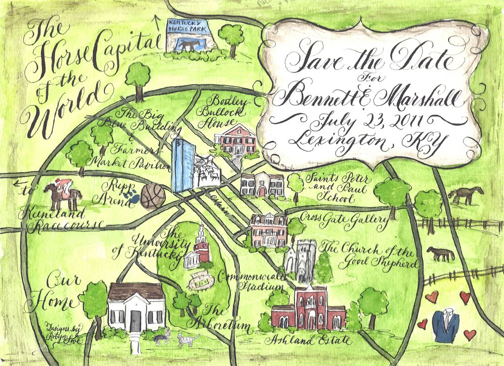 Bennett Watercolor Calligraphy Wedding Map etsy.jpg