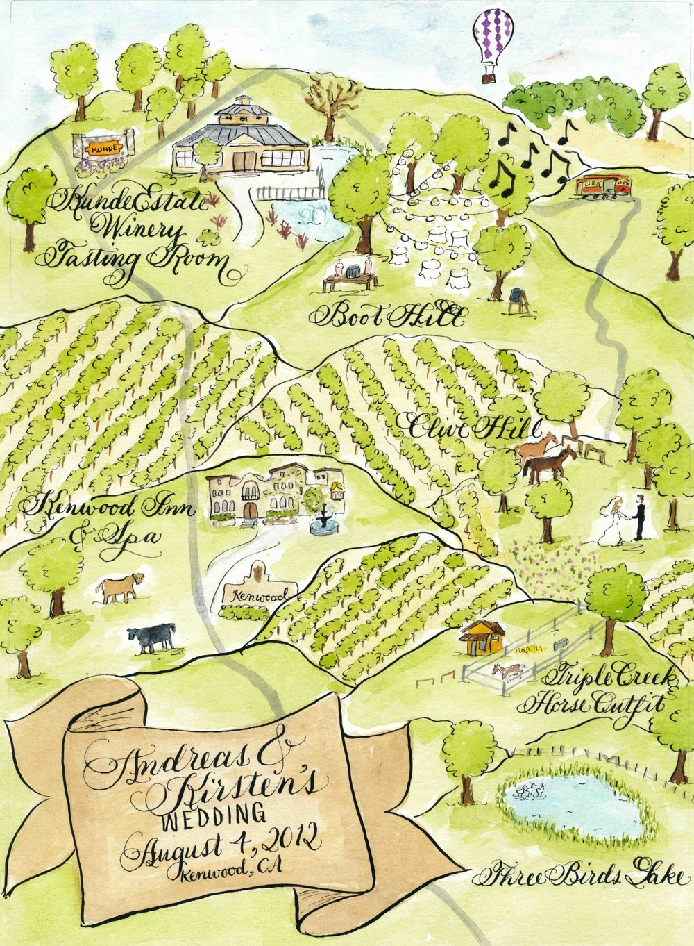 kirsten watercolor wedding map of kenwood ca sm.jpg