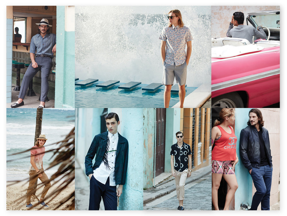 Spring 2016, featuring Adrien Sahores and Jarred Scott. Shot on location in Havana, Cuba by Daniel Riera.
