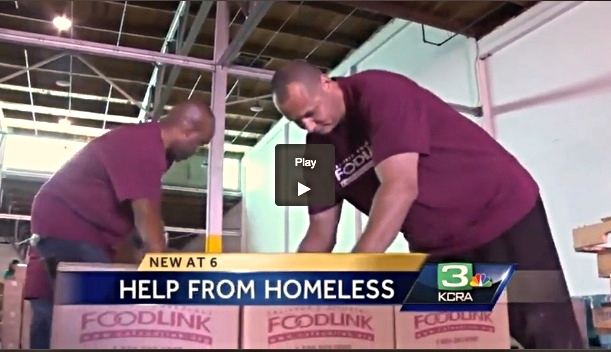 Sacramento homeless men, women help those hit hard by drought