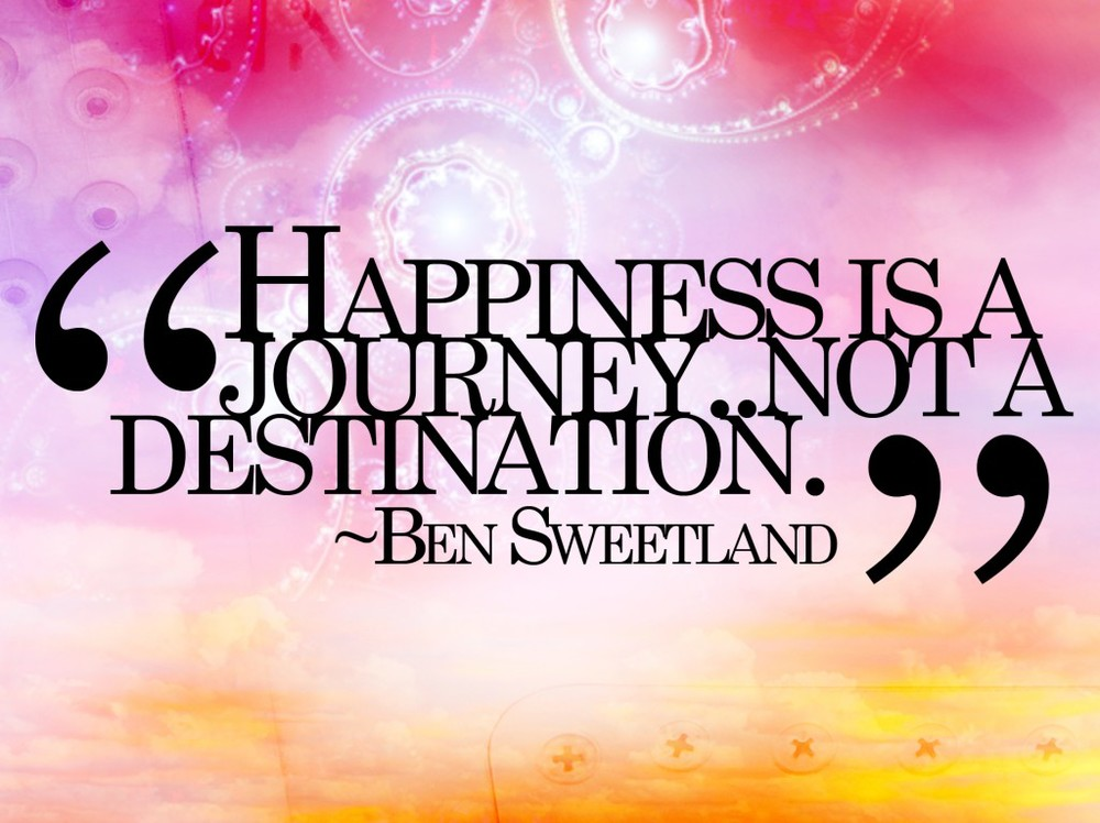 Happiness is a journey Life Coach Los Angeles