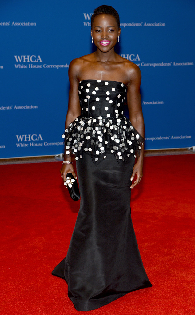Lupita Nyong'o at the White House Correspondants Dinner