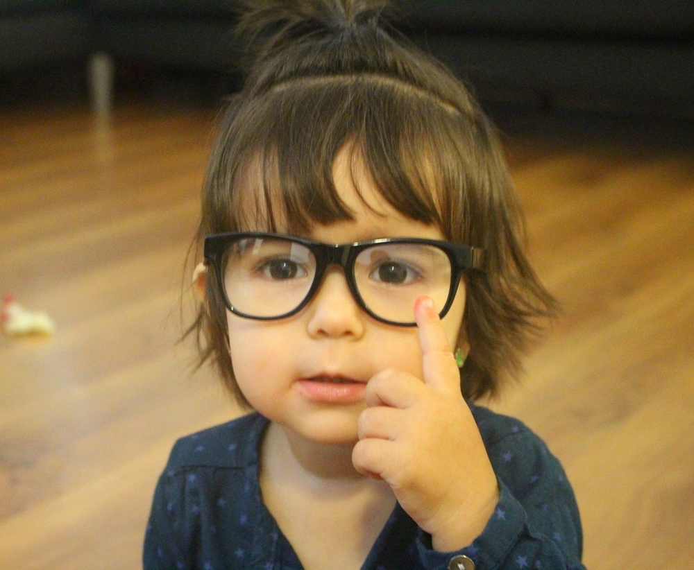 Ma fille intellectuelle=) Love you little girl