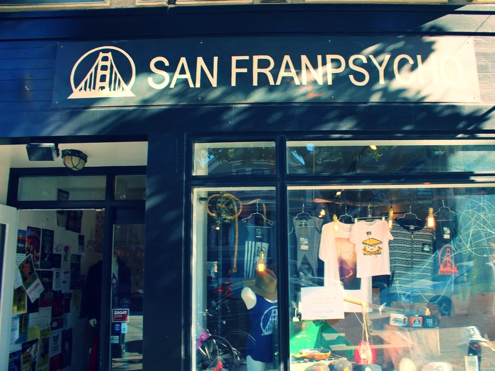 I love the unique shops San Francisco offers, each one with their own concept. Photo taken on our way out of the park.