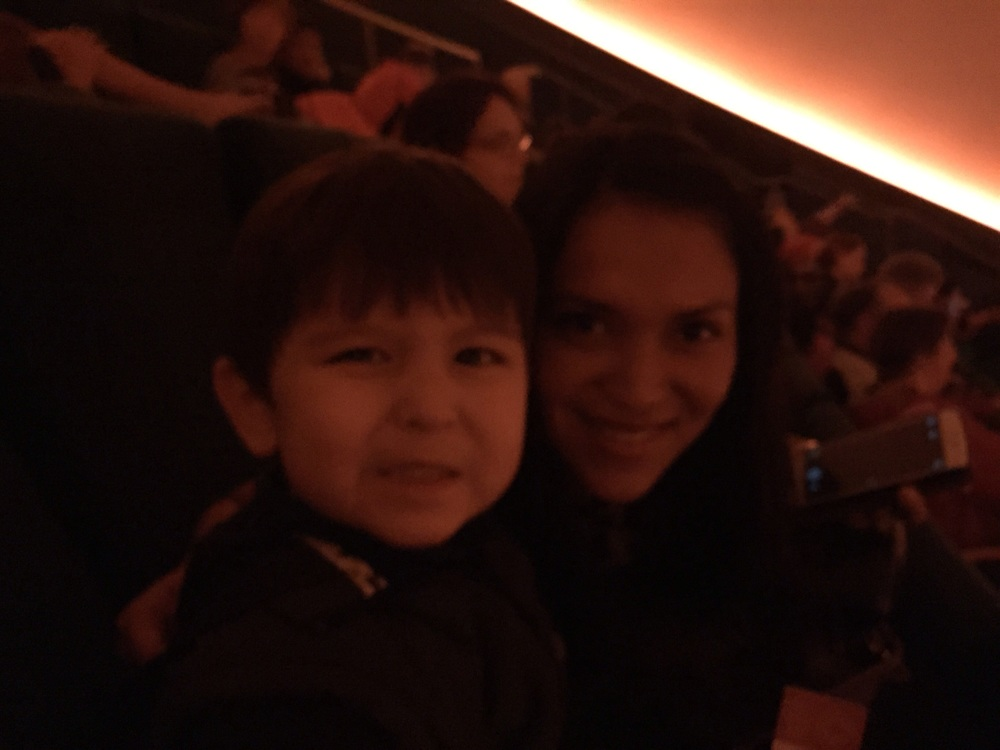 At the Morrison Planetarium with Taty