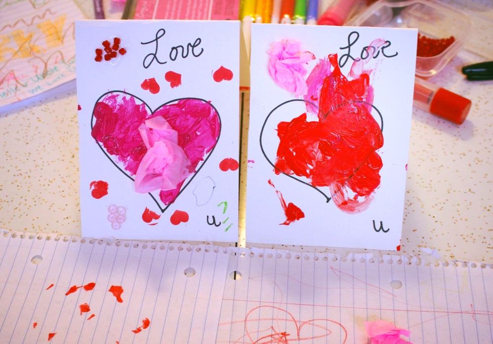 Left to right Mark Jacinto's card, Leo, Cecilia and Dominika's card. The boys signed them inside.