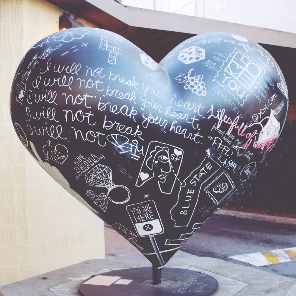 Love this hearts around San Francisco.
