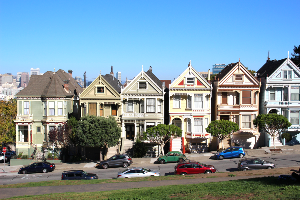 View from the park, remember Full House?