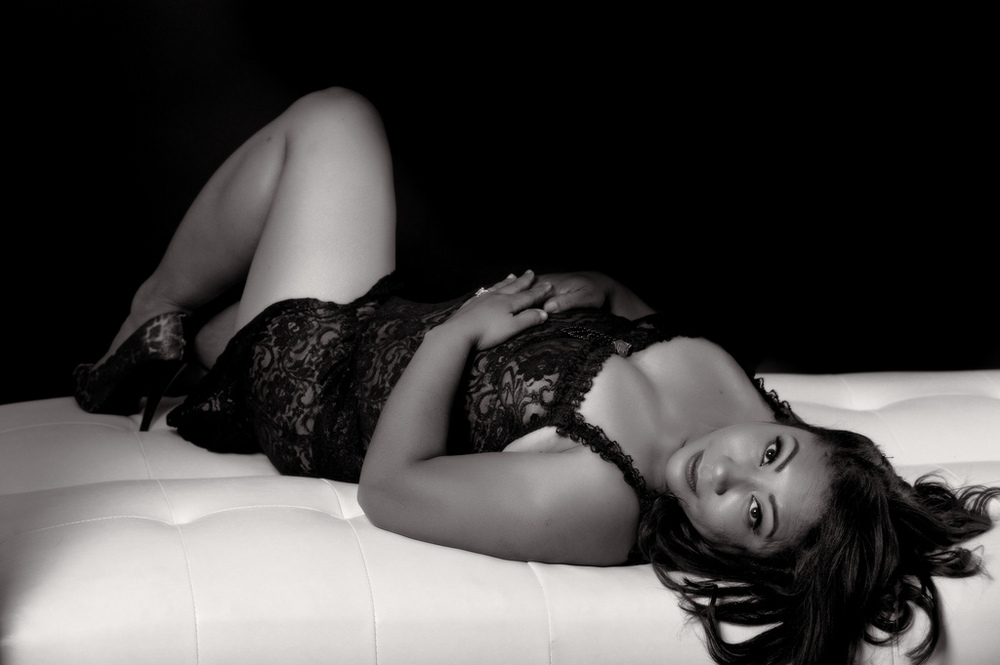 Boudoir photography by Rome Wilkerson