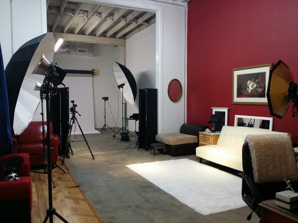 Glamour & Boudoir set Studio 8