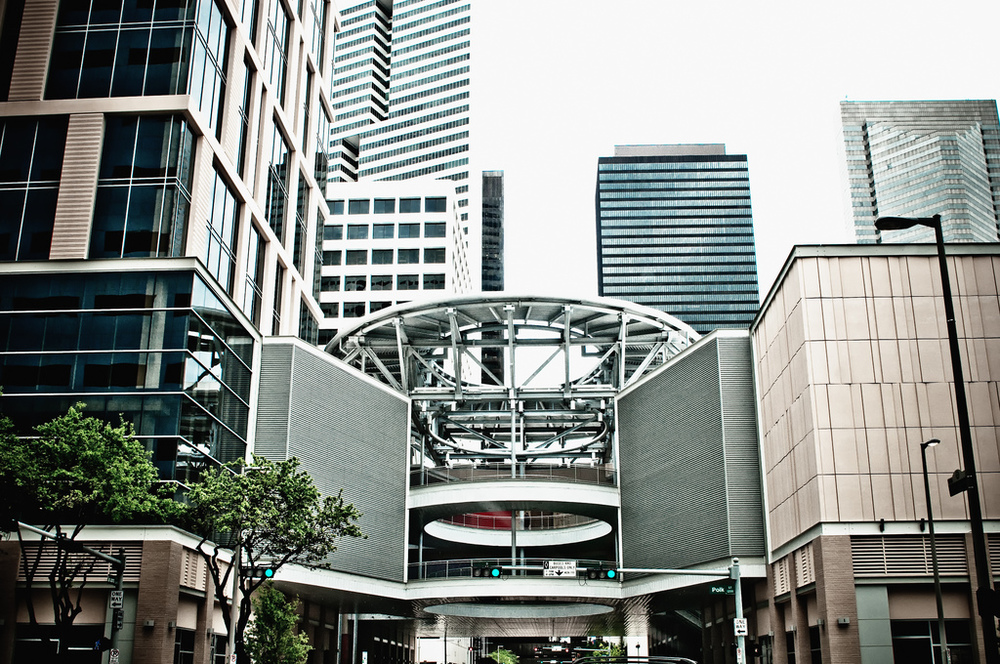 Houston street  architectural photography
