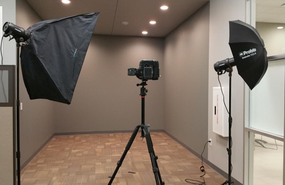 On location Studio setup