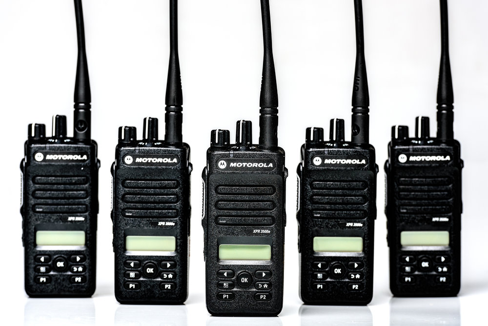 Professional walkie talkie