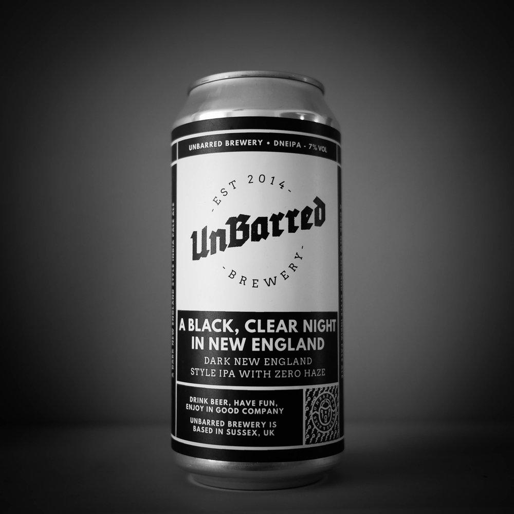 A BLACK CLEAR NIGHT IN NE