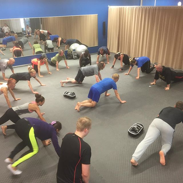There is still room in the most of out fitness classes, even though they are quite popular. #fitness #helsinki #vuosaari #kickboxing #kahvakuula #hiit #crosstraining #circuit #jooga #yoga