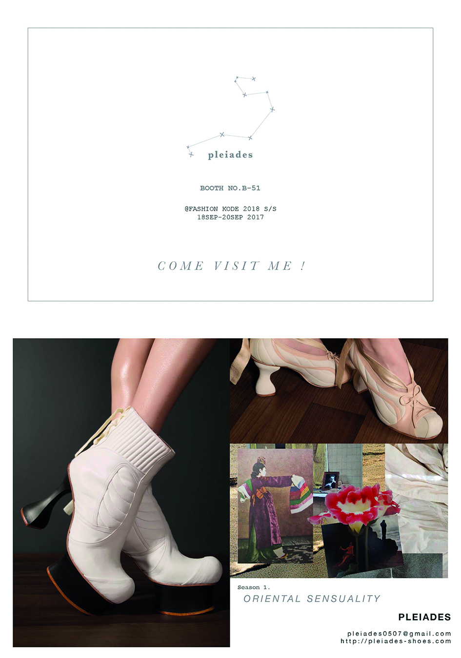 FASHION KODE S/S18 - BOOTH NO.B-2118-20SEP 2017 IN SEOUL@ S-FACTORY