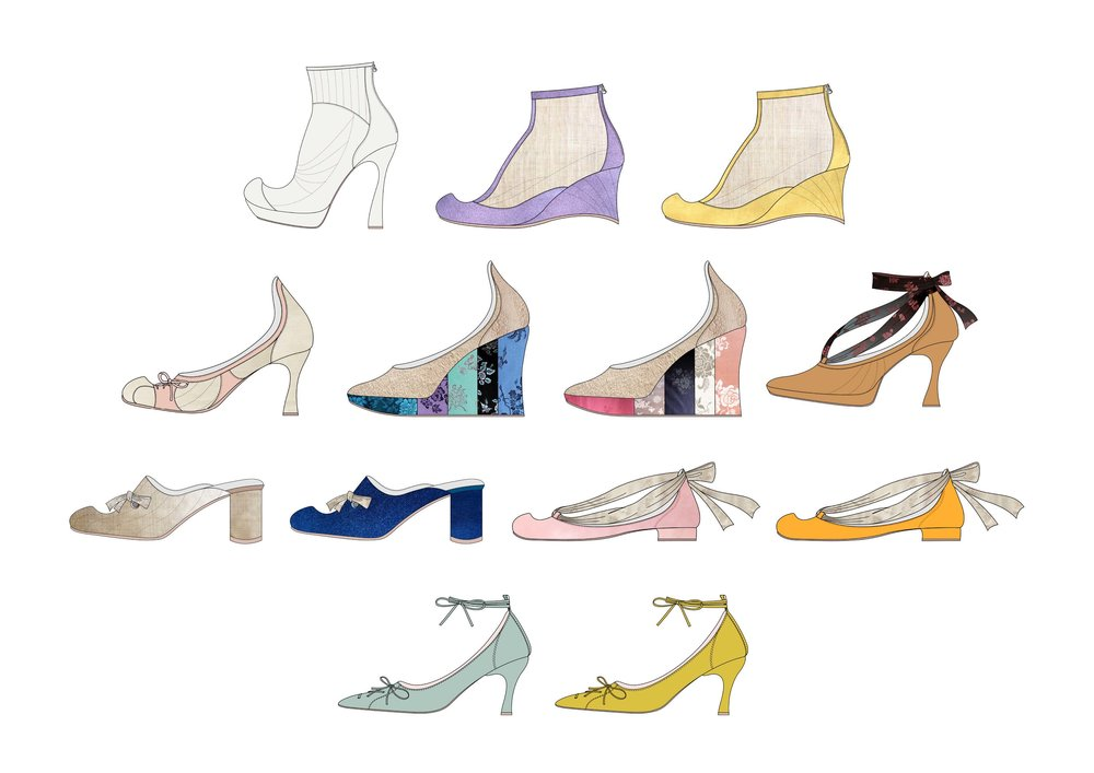 PLEIADES SEASON 01 is coming out ! The dream of a young Gisaeng girl is coming true through A Beautiful Collection of Shoes by PLEIADES - OFFICIAL LAUNCHING in OCTOBER 2017, Right After FASHION KODE SS18. Sheepskin, Velvet, Calfskin, Suede, Raw and Satin Silk, Korean Traditional Silk and Ramie ... Dreamy texture and colours - Soon to be Coming ♥︎