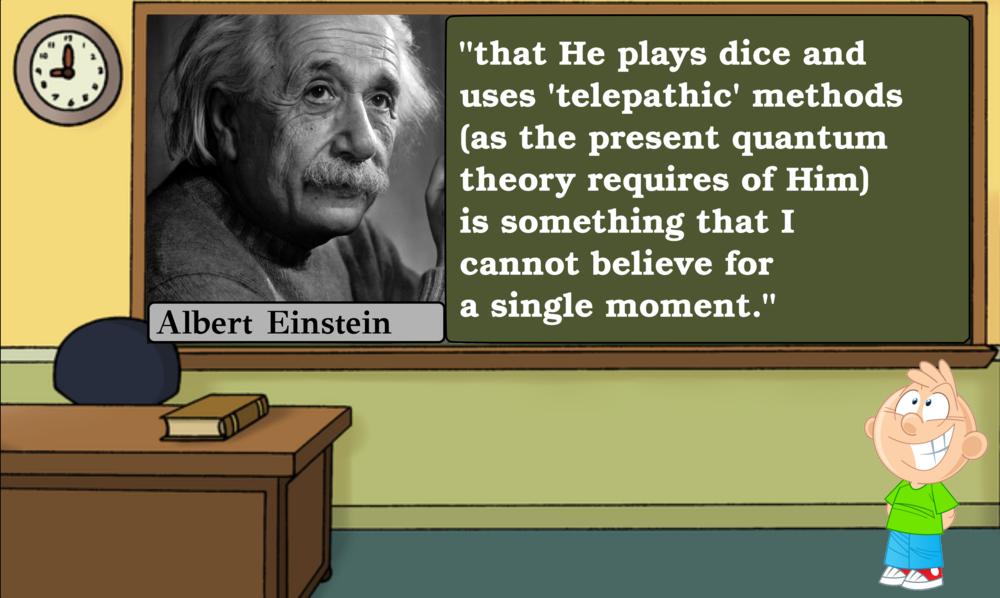 Einstein on Quantum Mechanics