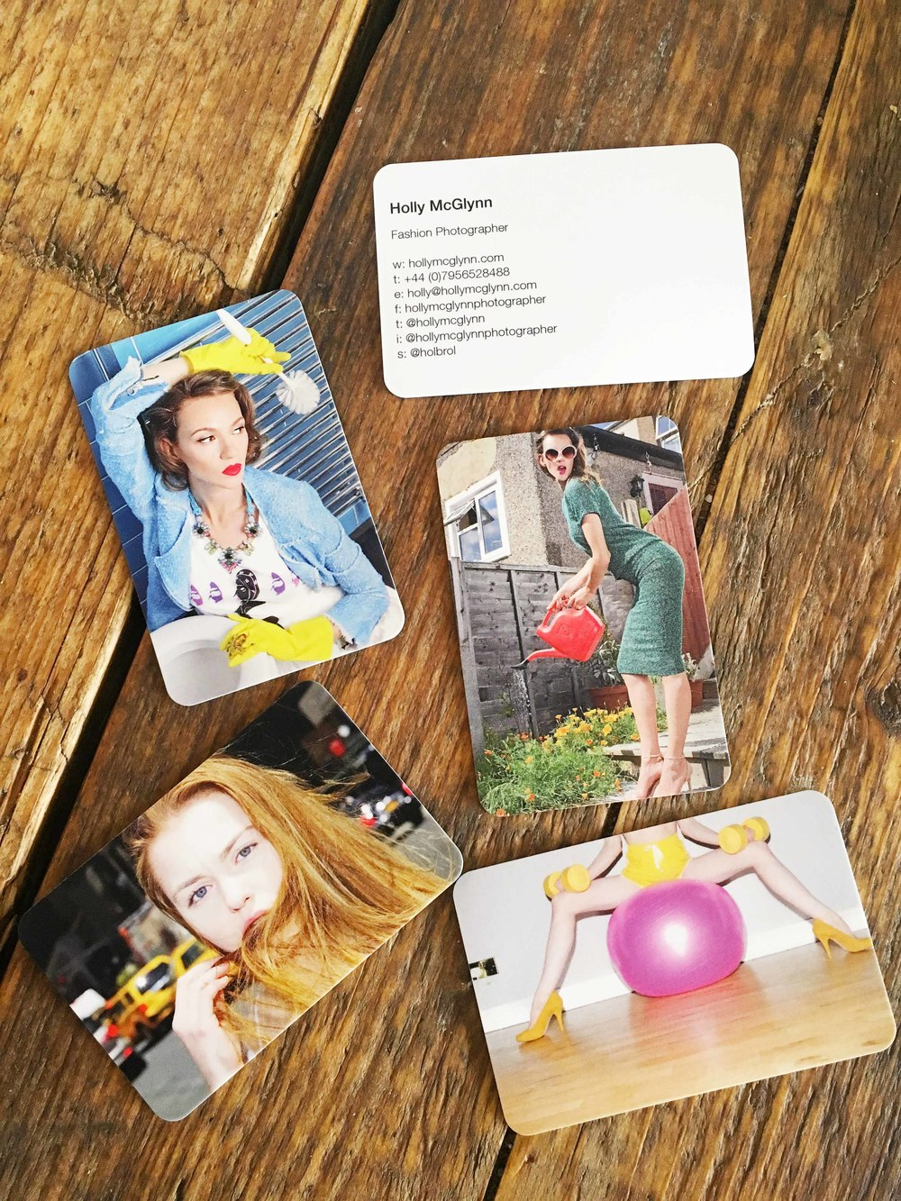 Some of my business cards from moo.com