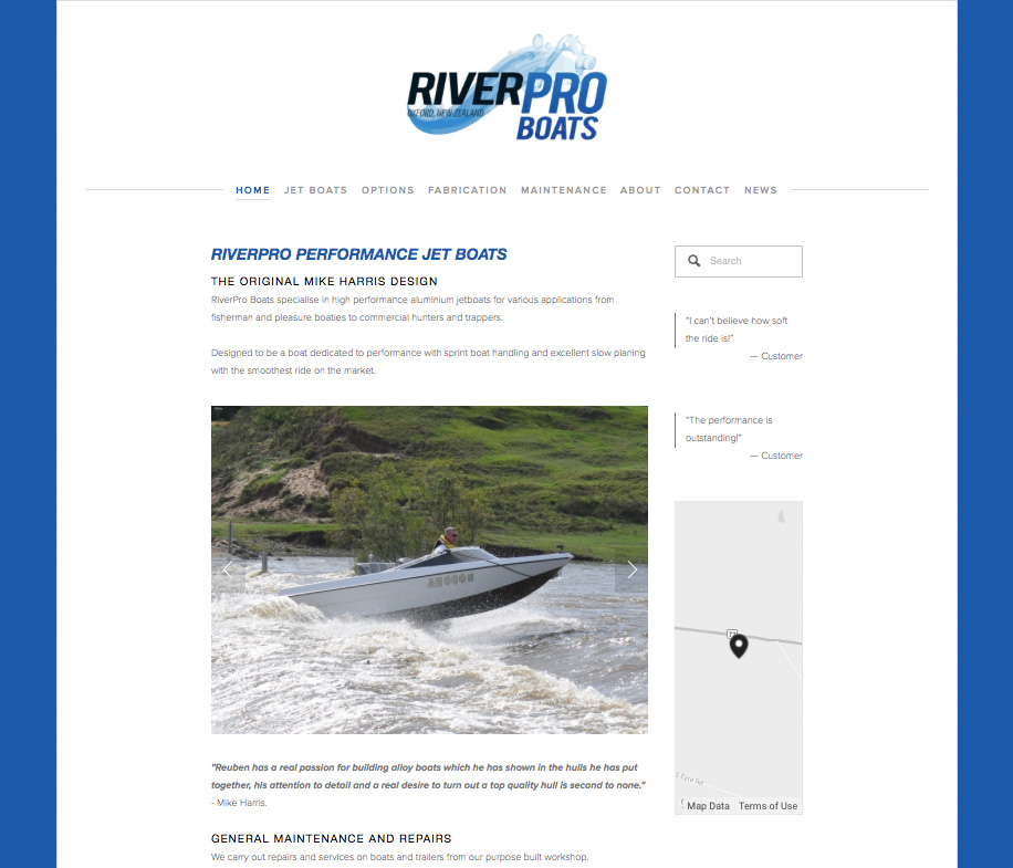 R  iverPro Boats  I Canterbuy, New Zealand