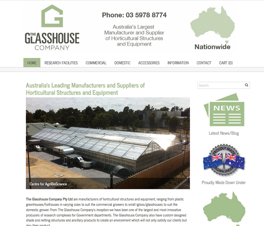 The Glasshouse Company  I Melbourne, Australia