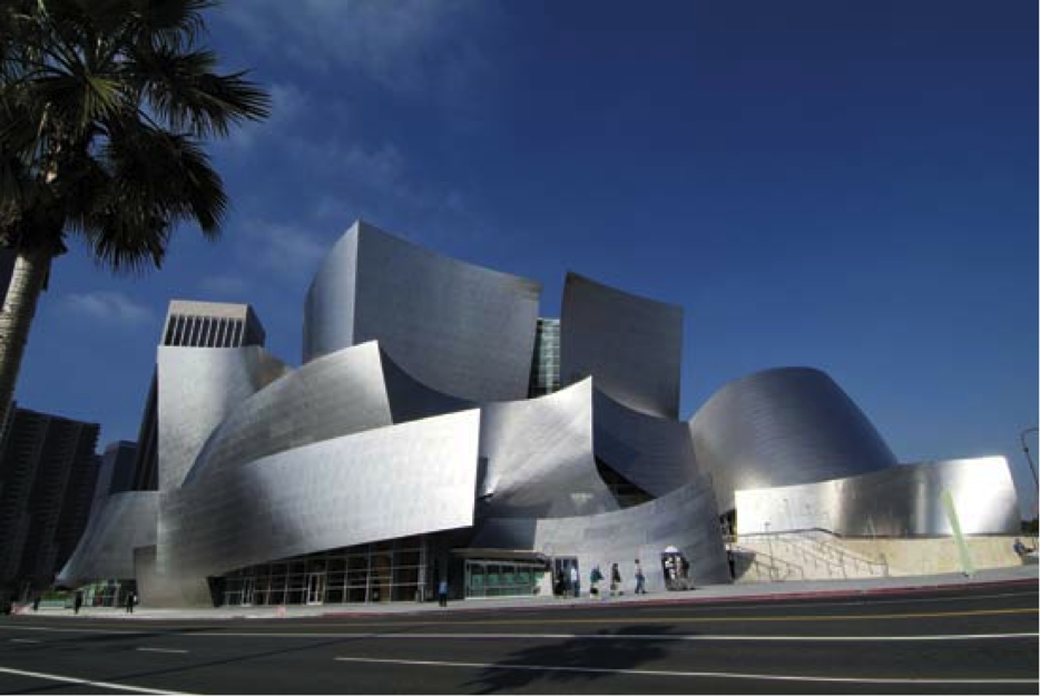 Walt Disney Concert Hall in LA
