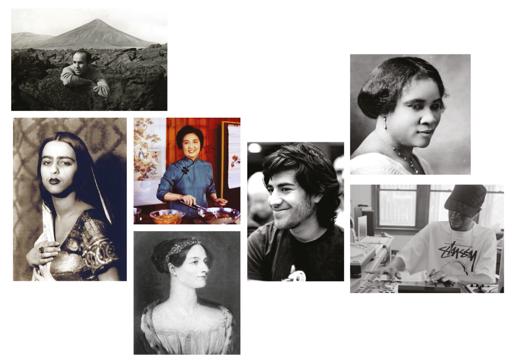 Research moodboard for A Tiny History