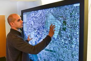 Interactive Display Screens