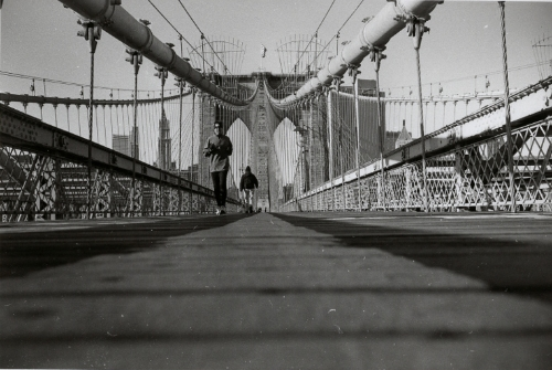 Nicholas Hopkins, BROOKLYN BRIDGE, 6 DECEMBER, 2007, Edition of 5, signed and numbered by the artist, Gelatin Silver Print on Ilford IV FB fibre, 50.8 x 61cm.