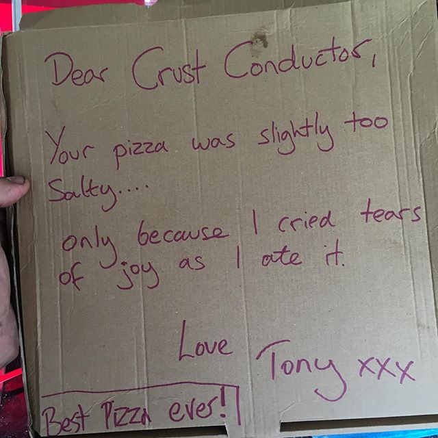 #commonpeople pizza love. Rightbackatcha Tony 😍😍