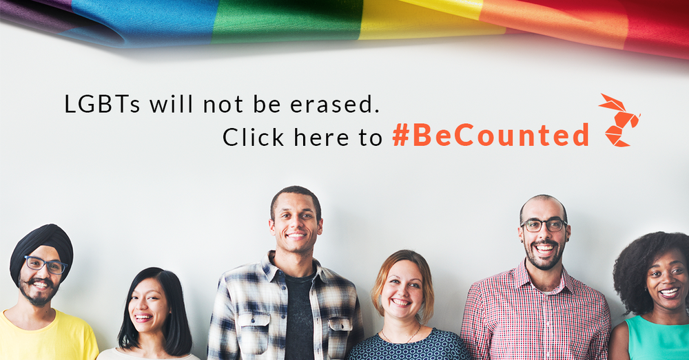 LGBTs #BeCounted