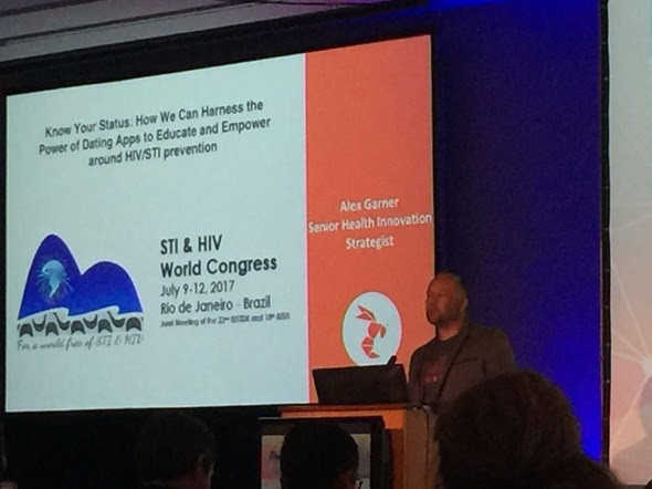 World STI & HIV Congress  - Alex Garner, Plenary Session