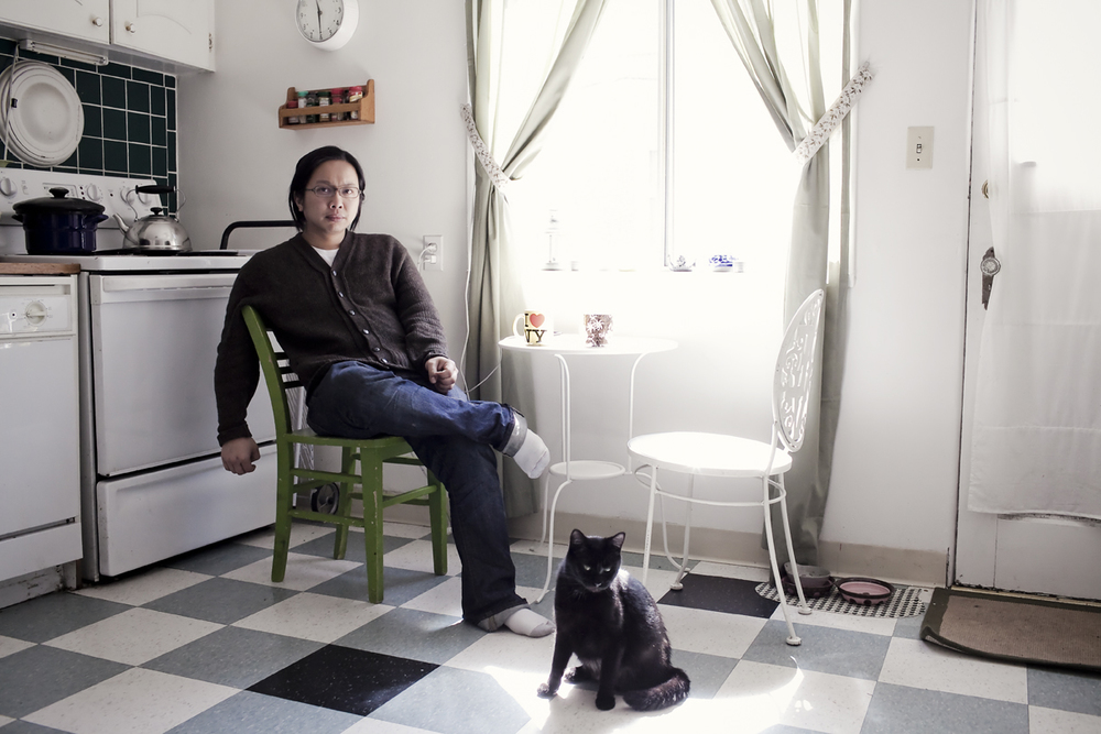 Portrait of Tomo Nakayama taken by Seattle based photographer Dylan Priest