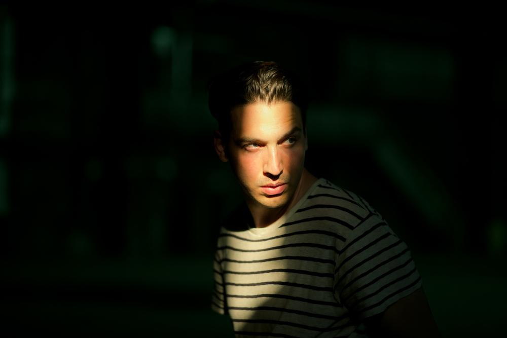 Portrait of Joshua Allen Harris taken by Seattle based photographer Dylan Priest