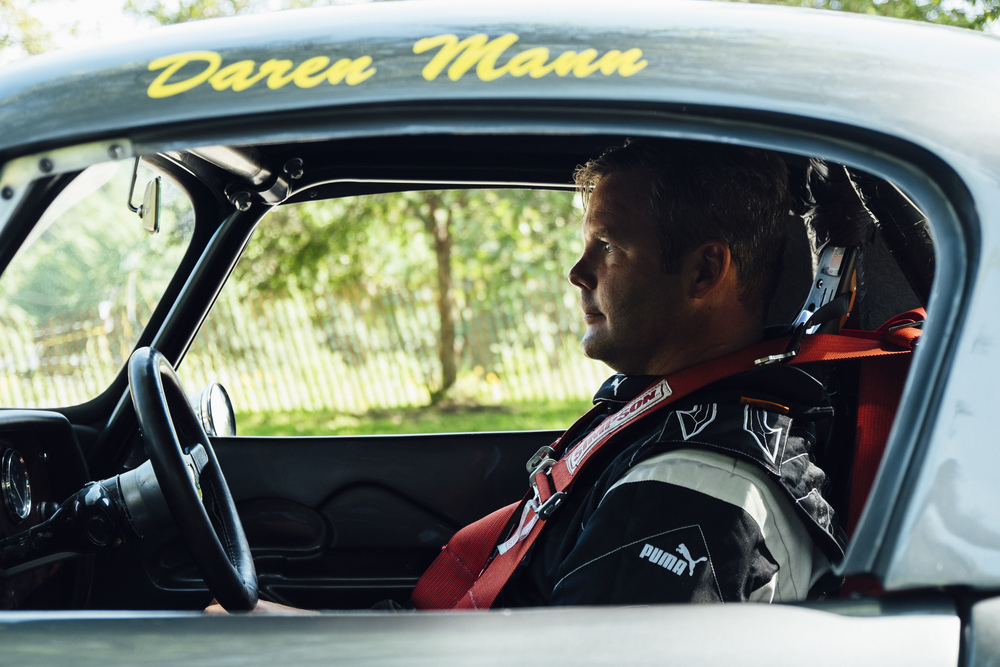 Racer car driver by   Seattle based photographer Dylan Priest