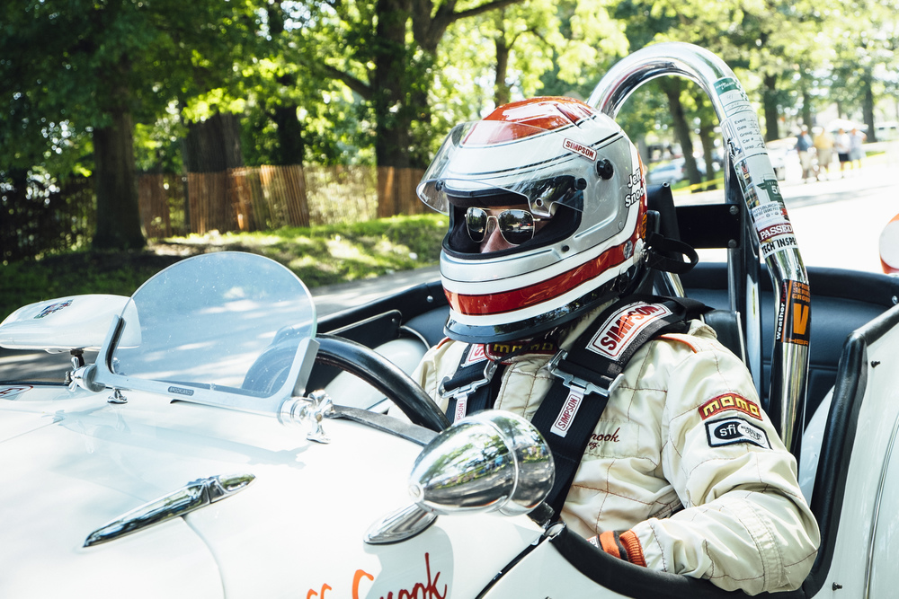 Vintage race car driver   by   Seattle based photographer Dylan Priest