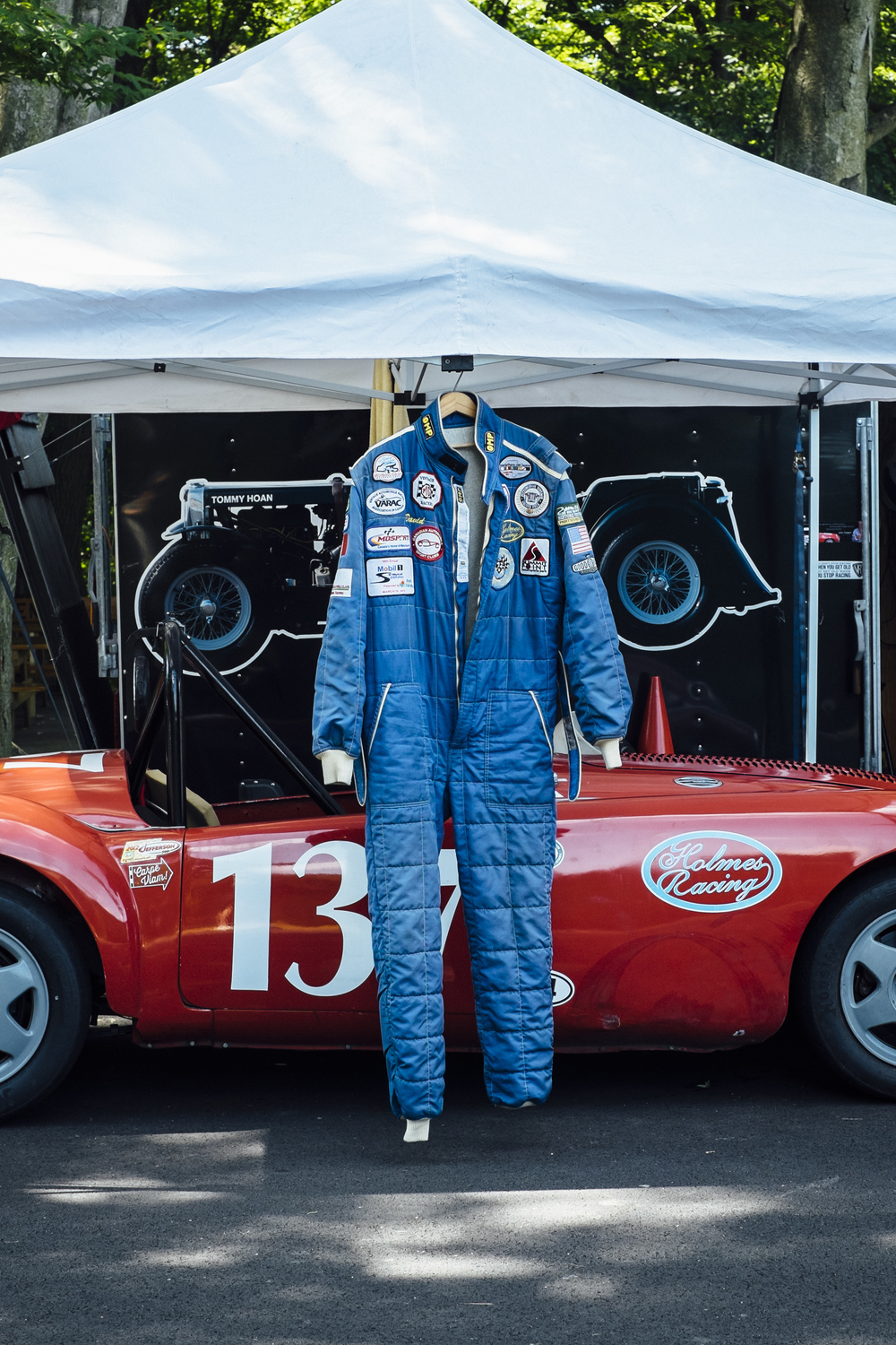Racing suit by Seattle based photographer Dylan Priest