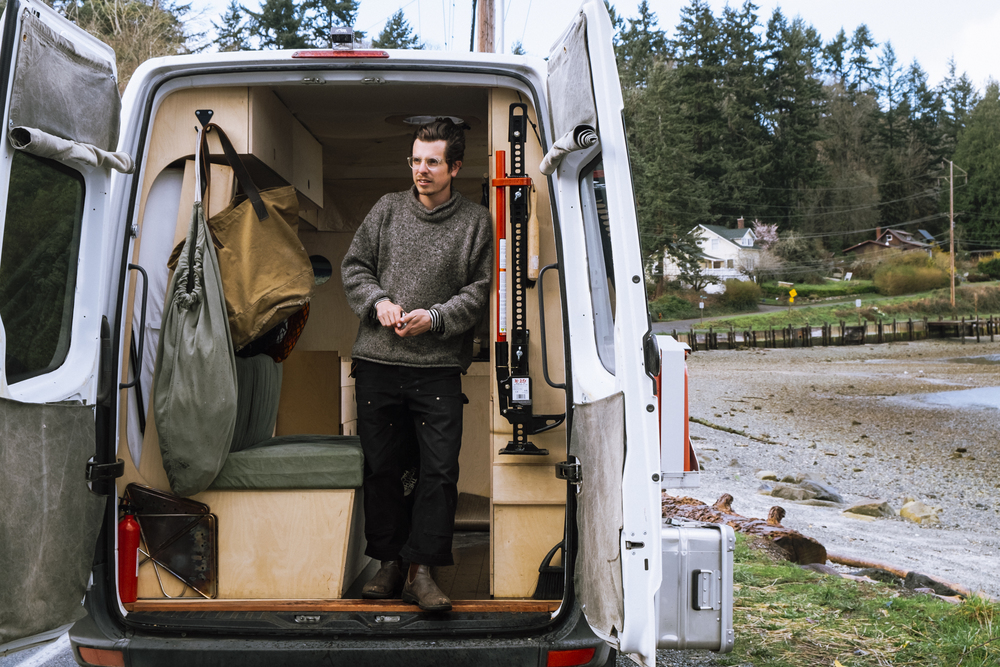 Portrait of   Christian Sorensen Hansen  taken by Seattle  portrait  photographer Dylan Priest