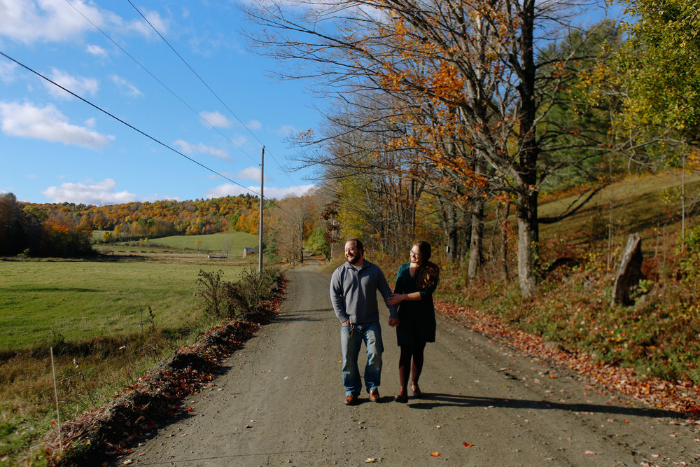 Kara and Pete's Session on the backroads of Strafford, Vermont