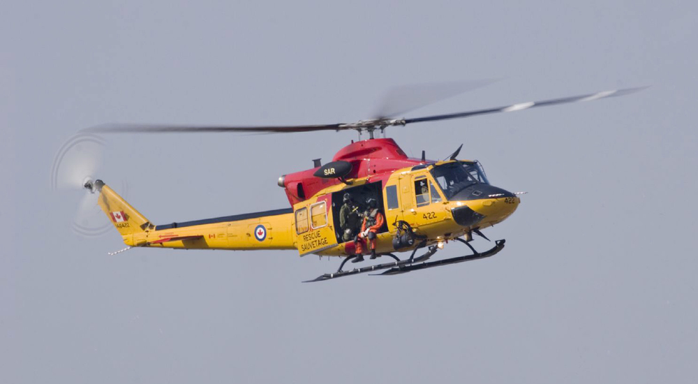 Canadian Search and Rescue helicopter