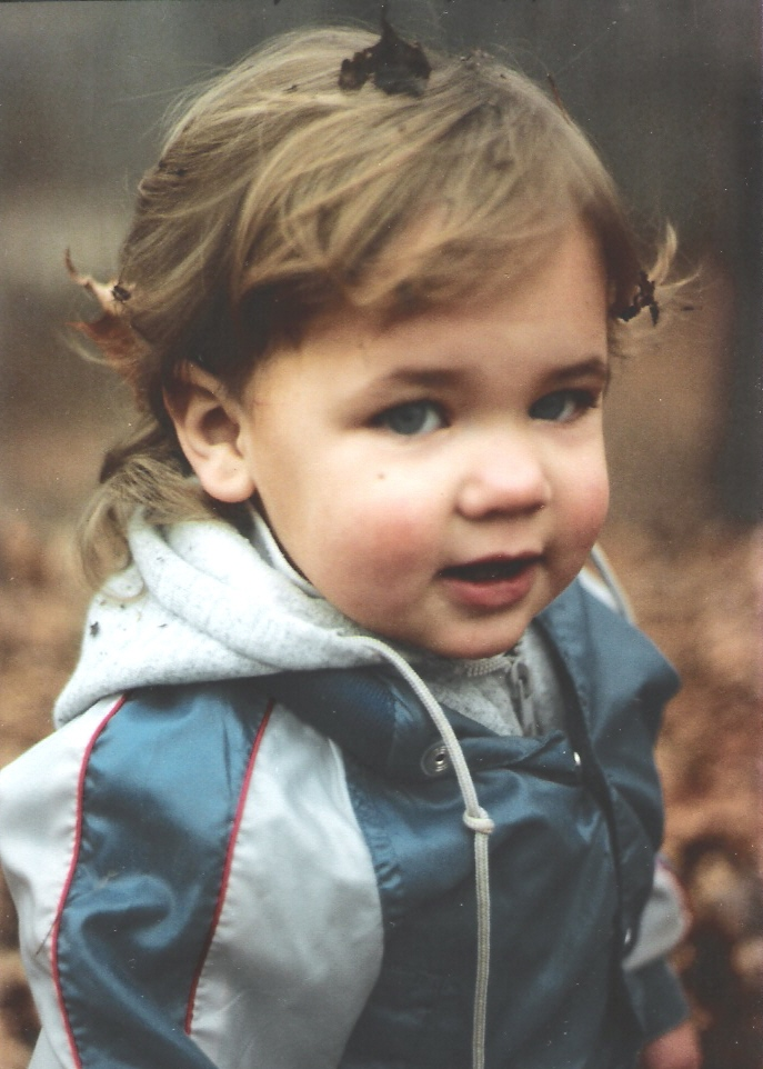 This is me when I was a munchkin. TIME TRAVEL. If I went back, my past self from this picture probably wouldn't recognize my current self though.