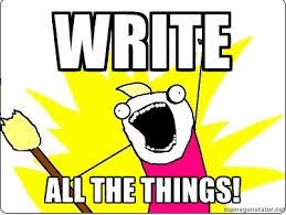 write-all-the-things-meme