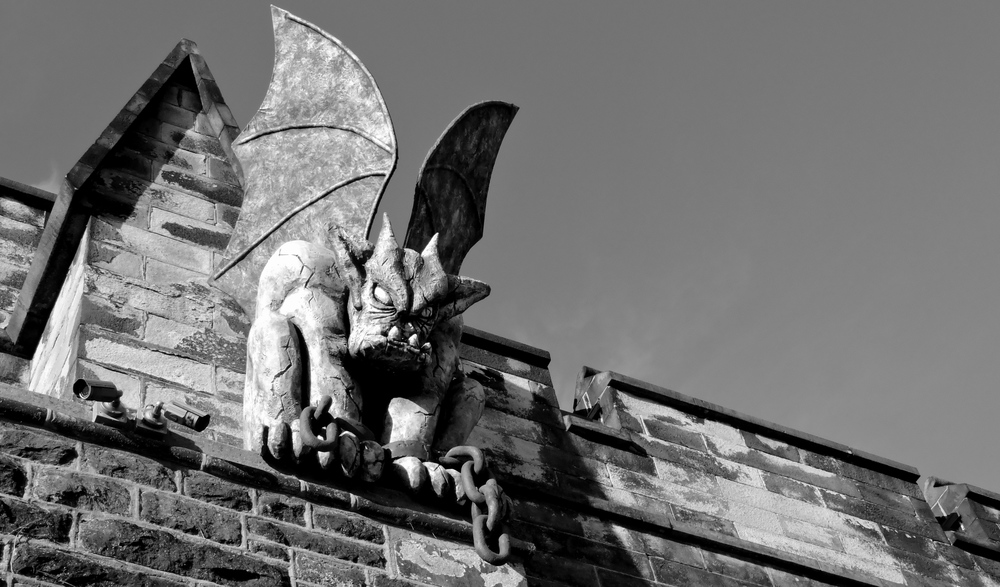 This gargoyle is going to eat you!
