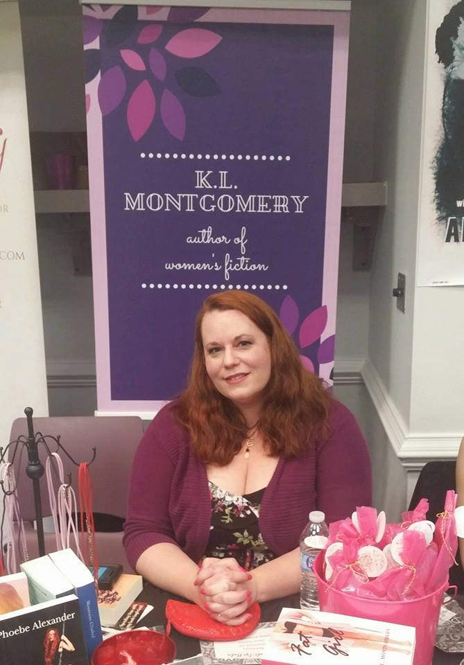 Author K. L. Montgomery at RVA Romance in 2016.