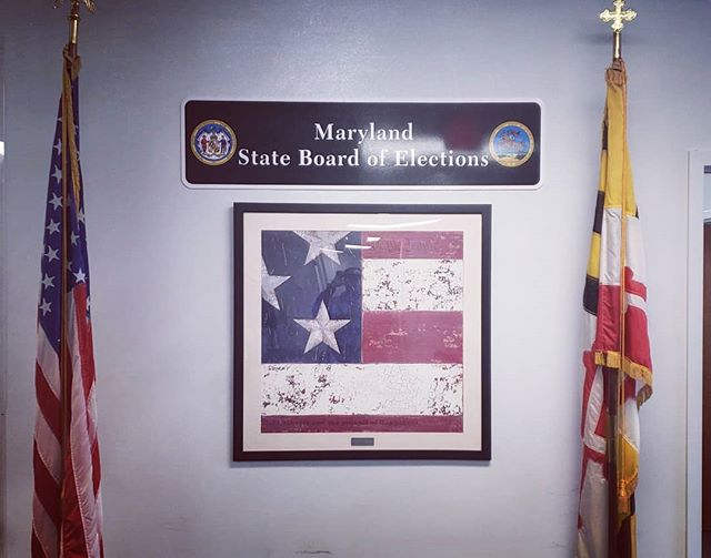 The team had a great access control system demonstration with the Maryland State Board of Elections!  #lntechllc #entrepreneurship #grind
